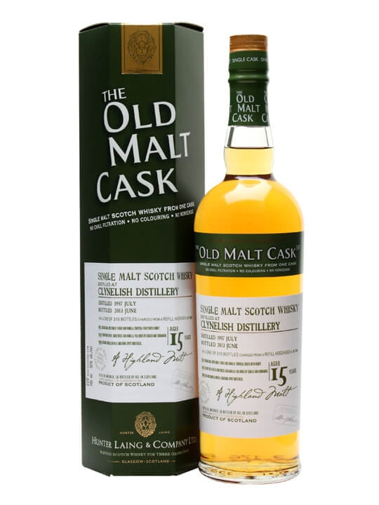 Clynelish 1997 / 15 Year Old / Cask #9881 / Old Malt Cask Highland Whisky