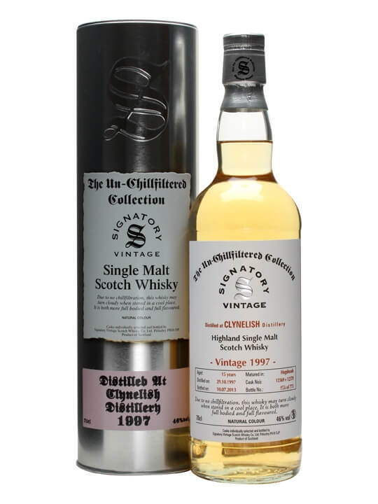 Clynelish 1997 / 15 Year Old / Cask #12369+70 / Signatory Highland Whisky