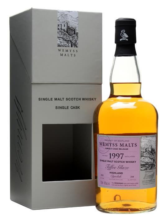 Clynelish 1997 / Toffee Glaze / Wemyss Highland Whisky