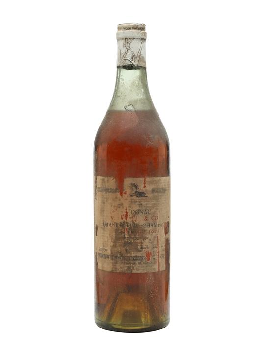 Hine 1922 Cognac / Landed 1923