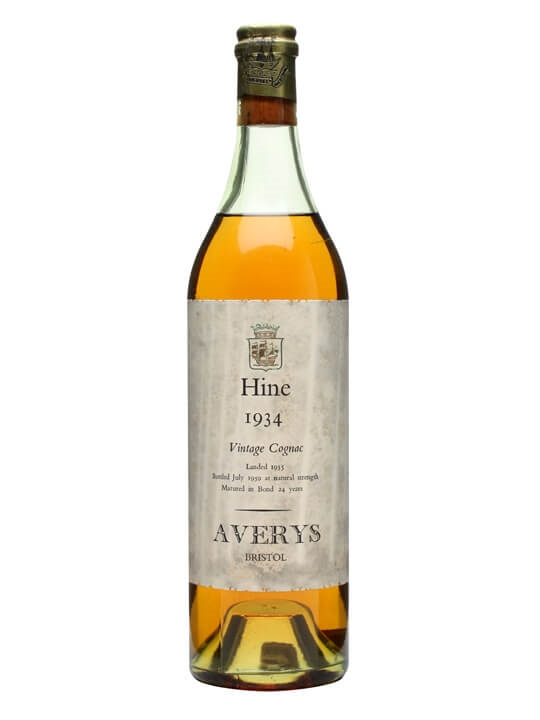 Hine 1934 Cognac / Early Landed / 24 Year Old