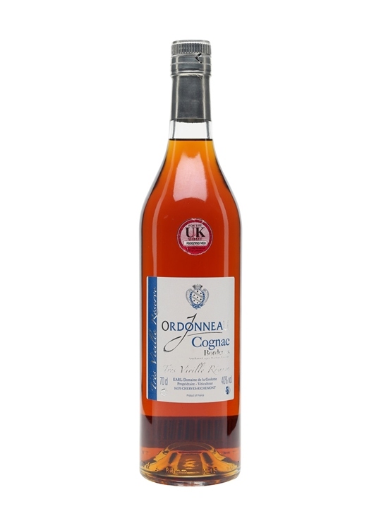 J Ordonneau Borderies Tres Vieille Reserve Cognac