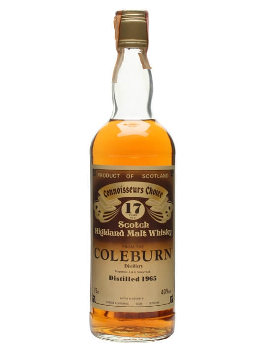 Coleburn 1965 / 17 Year Old / Connoisseurs Choice Speyside Whisky