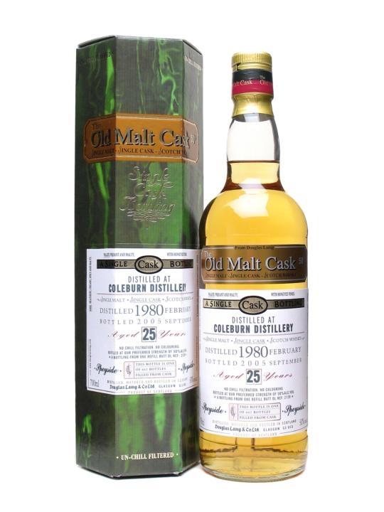 Coleburn 1980 / 25 Year Old / Old Malt Cask #2128 Speyside Whisky