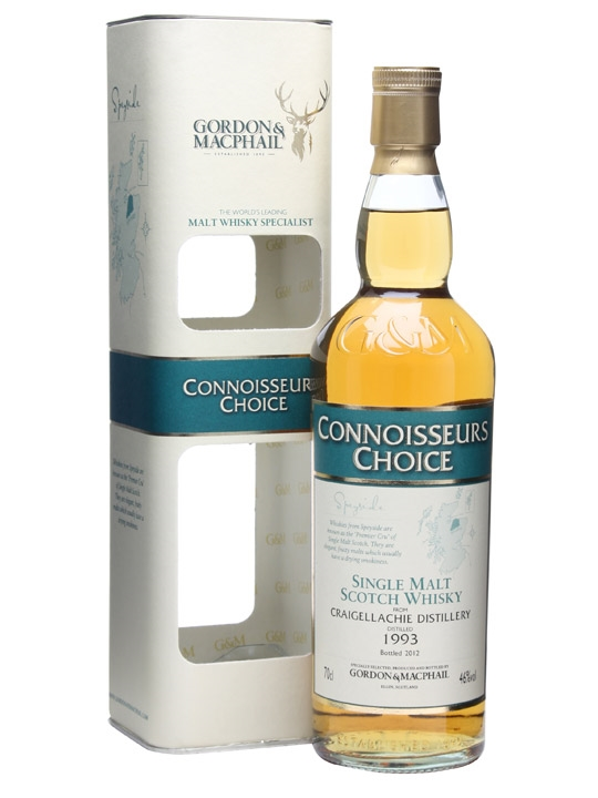 Craigellachie 1993 / Connoisseurs Choice Speyside Whisky