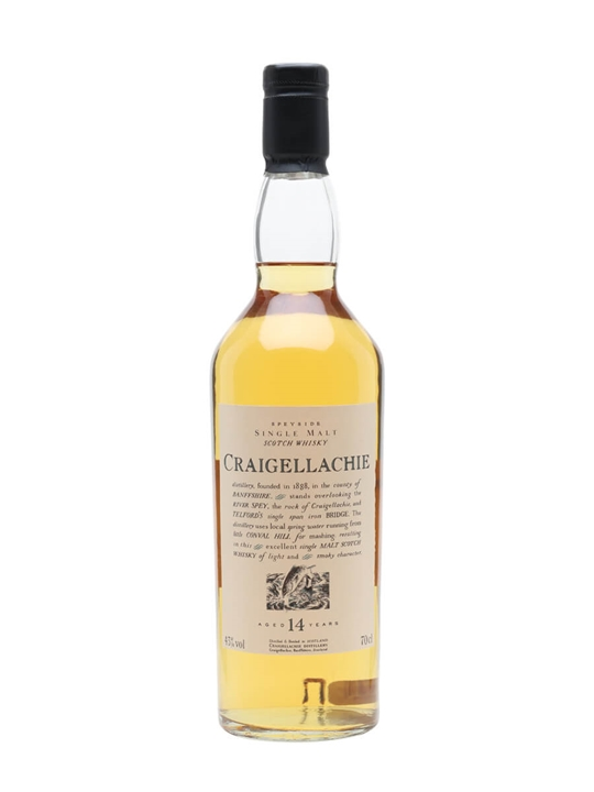 Craigellachie 14 Year Old Speyside Single Malt Scotch Whisky