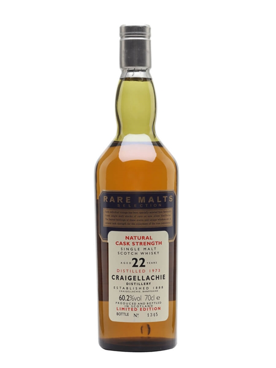 Craigellachie 1973 / 22 Year Old Speyside Single Malt Scotch Whisky