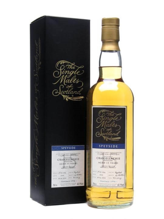 Craigellachie 1994 / 15 Year Old Speyside Single Malt Scotch Whisky