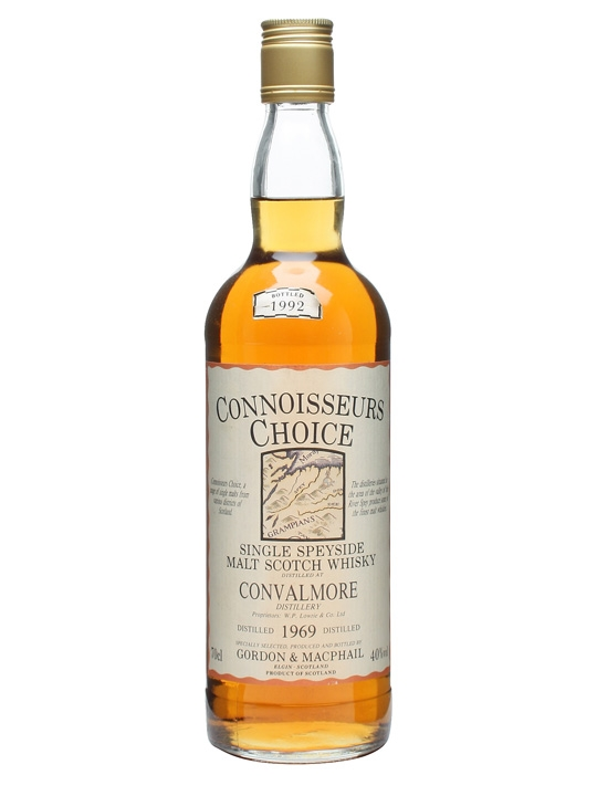 Convalmore 1969 / Bot.1992 / Connoisseurs Choice Speyside Whisky