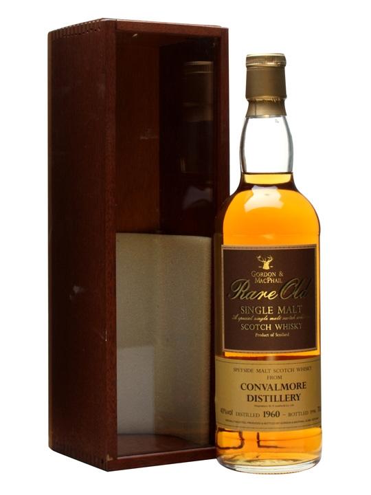 Convalmore 1960 / Bot.1996 Speyside Single Malt Scotch Whisky