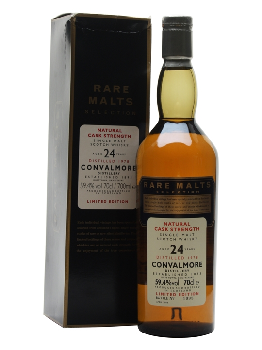 Convalmore 1978 / 24 Year Old Speyside Single Malt Scotch Whisky