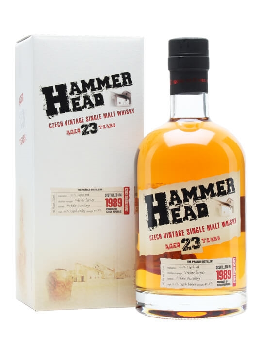 Hammer Head 1989 Czech Single Malt Whisky