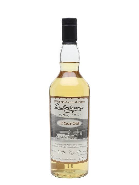 Dalwhinnie 12 Year Old / Manager's Dram Highland Whisky