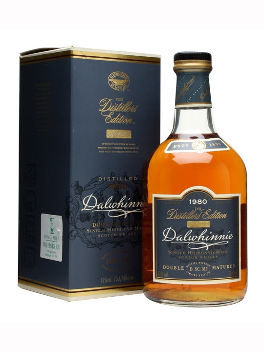 Dalwhinnie 1980 Distillers Edition / 1st Release Highland Whisky