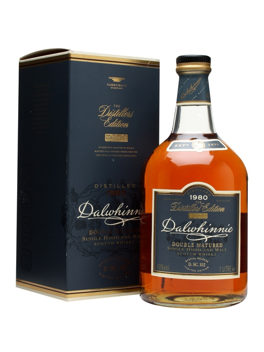 Dalwhinnie 1980 Distillers Edition Litre / 1st Release Highland Whisky
