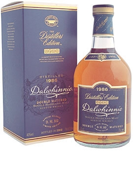 Dalwhinnie 1986 / Distillers Edition Highland Whisky