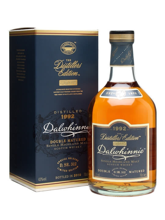 Dalwhinnie 1992 / Distillers Edition Highland Whisky