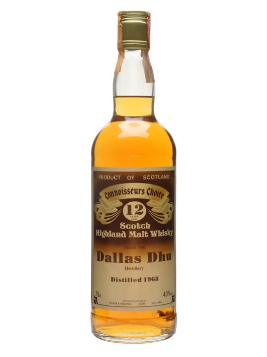 Dallas Dhu 1968 / 12 Year Old / Connoisseurs Choice Speyside Whisky