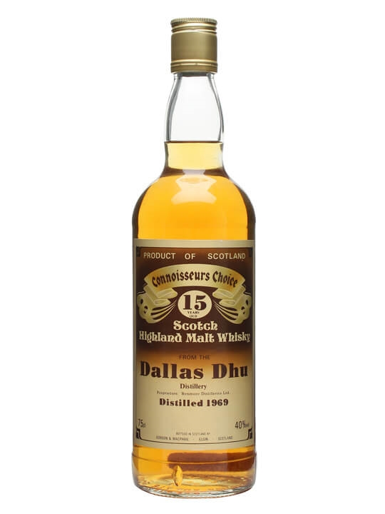 Dallas Dhu 1969 / 15 Year Old / Brown Label Speyside Whisky