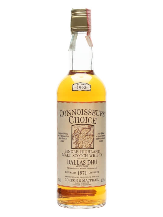 Dallas Dhu 1971 / Bot.1992 / Connoisseurs Choice Speyside Whisky