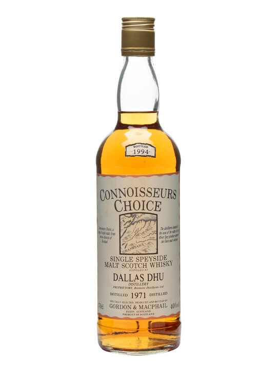 Dallas Dhu 1971 / Bot.1994 / Connoisseurs Choice Speyside Whisky