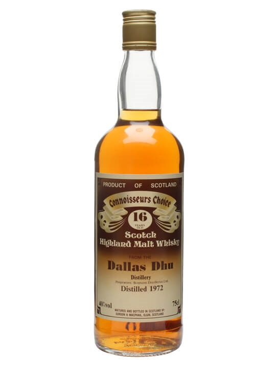 Dallas Dhu 1972 / 16 Year Old / Connoisseurs Choice Speyside Whisky
