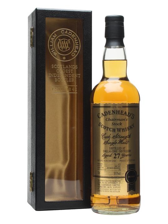 Dallas Dhu 1979 / 27 Year Old / Cadenhead's Speyside Whisky