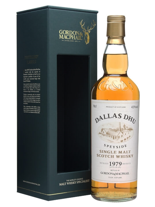 Dallas Dhu 1979 / 43% / Gordon & Macphail Speyside Whisky