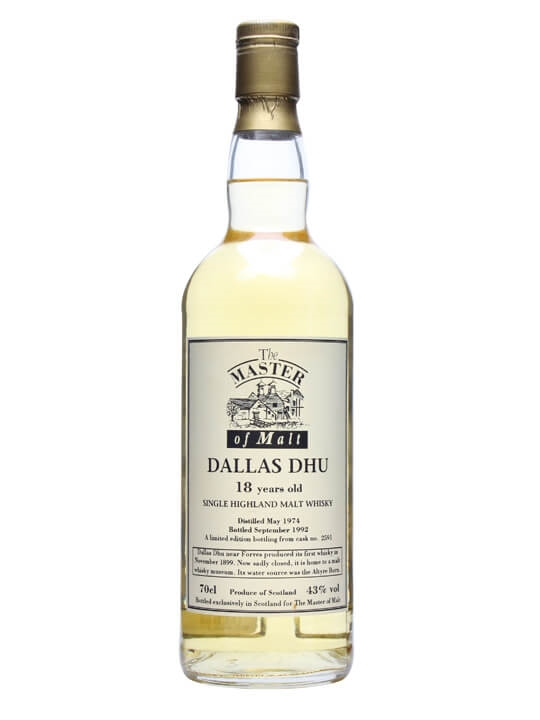 Dallas Dhu 1974 / 18 Year Old / The Master Of Malt Speyside Whisky