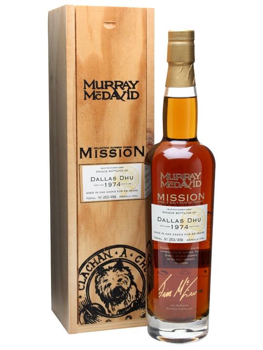 Dallas Dhu 1974 / 29 Year Old / Murray Mcdavid Speyside Whisky