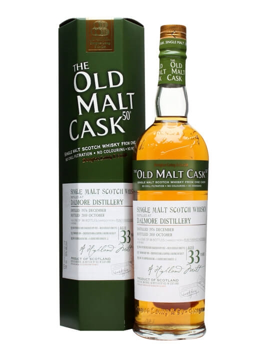 Dalmore 1976 / 33 Year Old / Old Malt Cask #6632 Highland Whisky