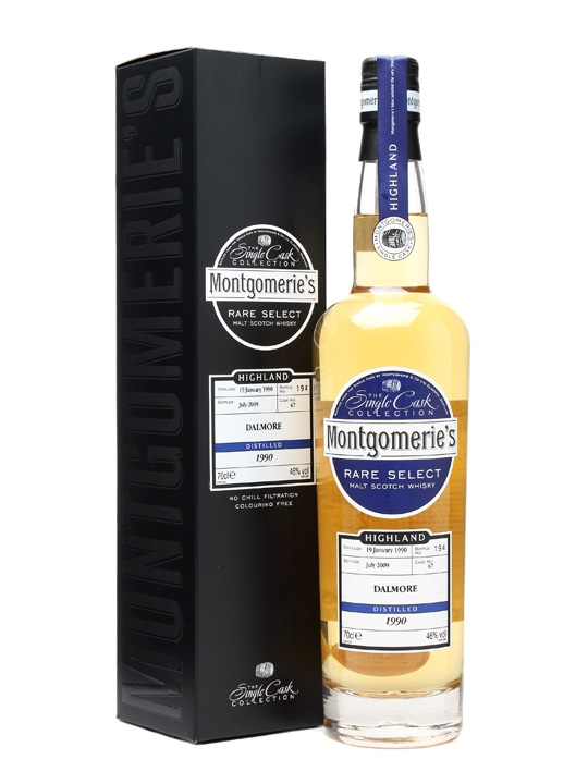 Dalmore 1990 / Cask #67 / Montgomerie's Highland Whisky