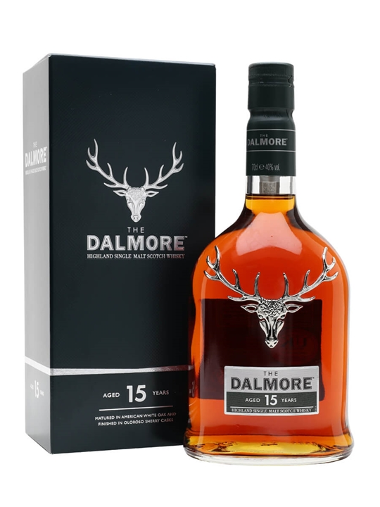 Dalmore 15 Year Old Highland Single Malt Scotch Whisky
