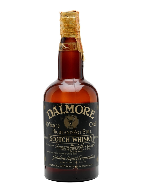 Dalmore 20 Year Old / Bot.1960s Highland Single Malt Scotch Whisky