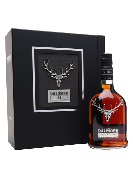 The Dalmore 25 Year Old Highland Single Malt Scotch Whisky