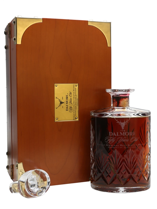 Dalmore 50 Year Old Decanter Highland Single Malt Scotch Whisky