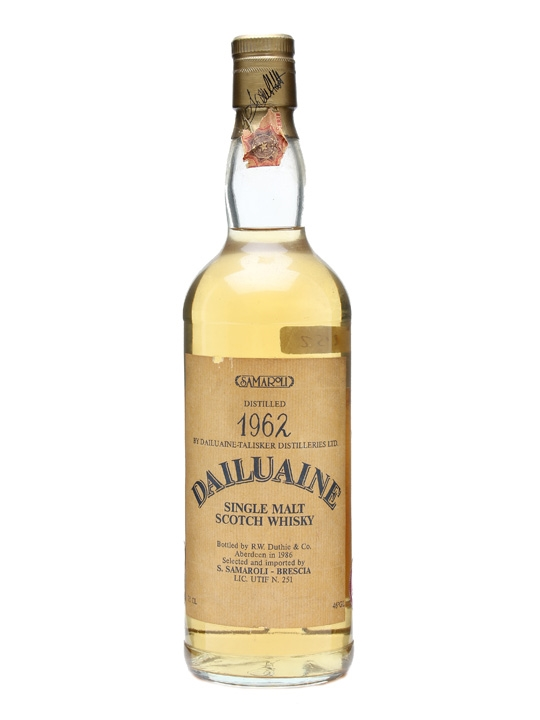 Dailuaine 1962 Speyside Single Malt Scotch Whisky