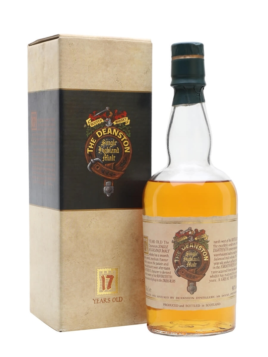 Deanston 17 Year Old / Bot.1990s Highland Single Malt Scotch Whisky