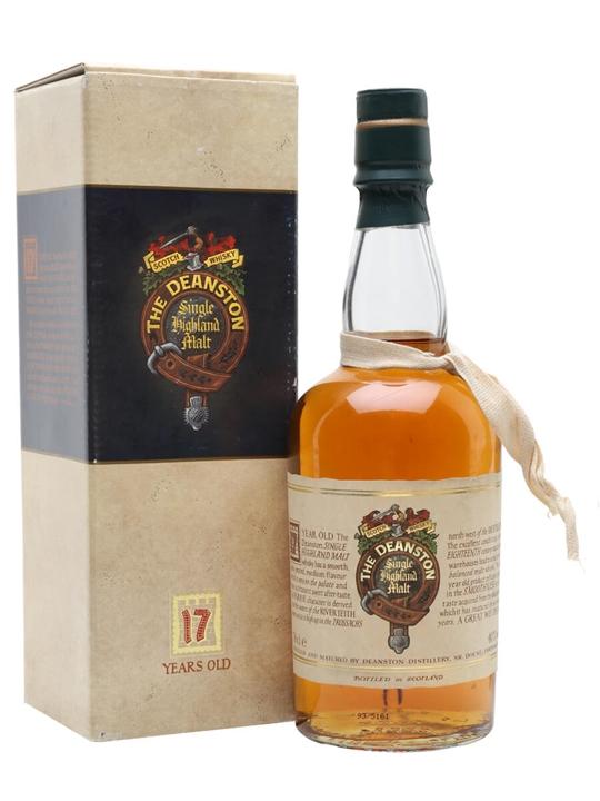 Deanston 17 Year Old / Bot.1990s Highland Single Malt Scotch Whisky