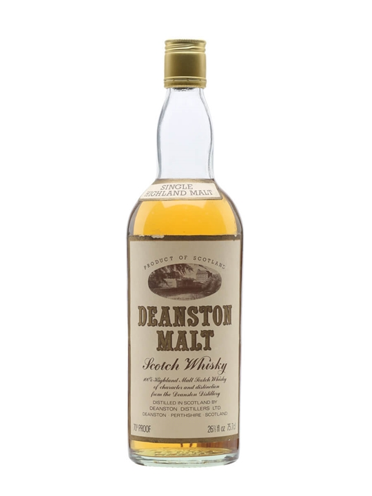 Deanston Malt / Bot.1970s Highland Single Malt Scotch Whisky