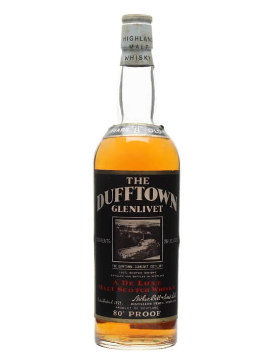 Dufftown 8 Year Old / Bot.1960s Speyside Single Malt Scotch Whisky