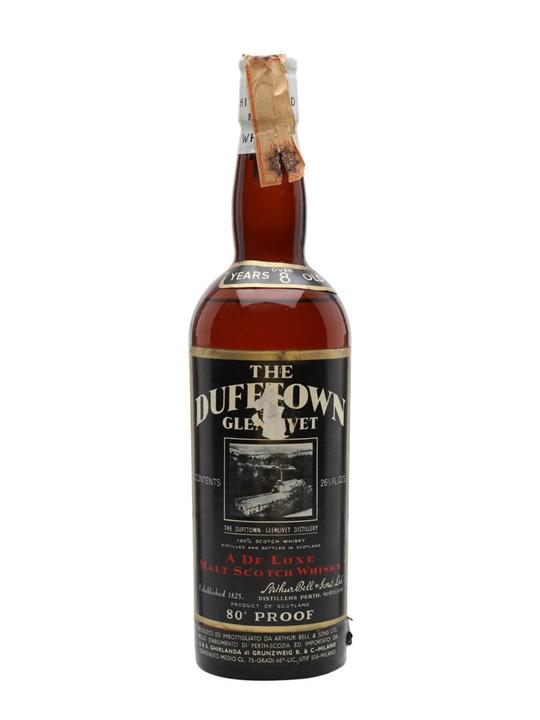 Dufftown-Glenlivet 8 Year Old / Bot.1960s Speyside Whisky