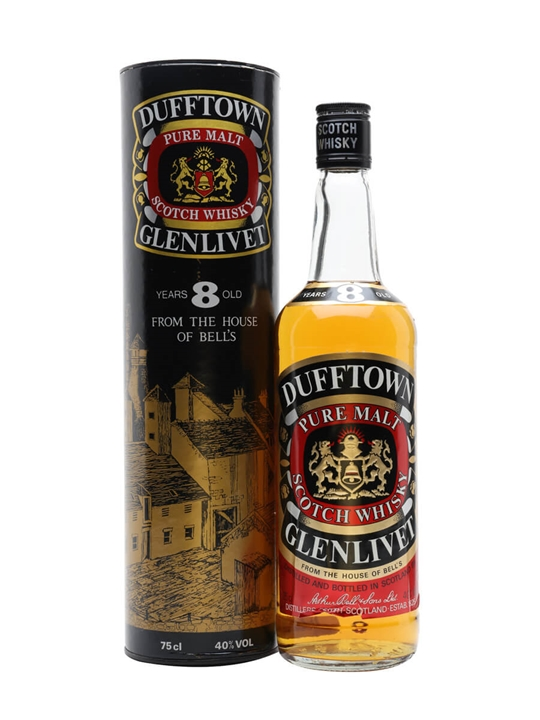 Dufftown 8 Year Old / Bot.1980s Speyside Single Malt Scotch Whisky