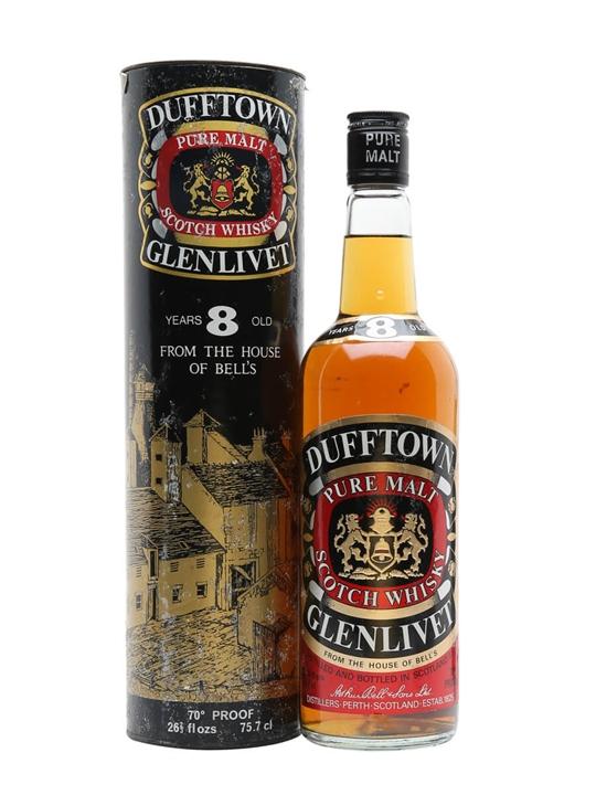 Dufftown-glenlivet 8 Year Old / Bot.1970s Speyside Whisky