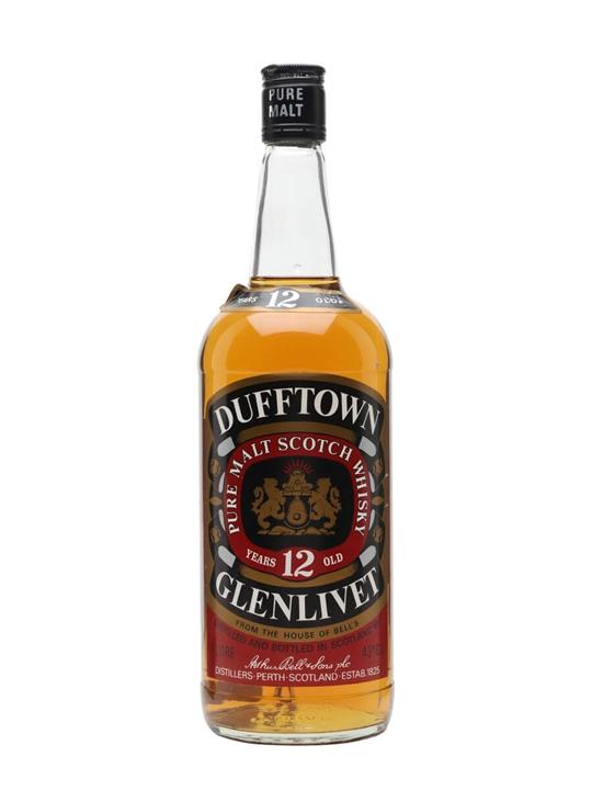 Dufftown-glenlivet 12 Year Old / Bot.1980s Speyside Whisky