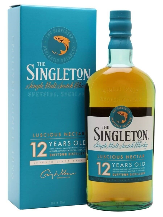 Singleton Of Dufftown 12 Year Old Speyside Single Malt Scotch Whisky