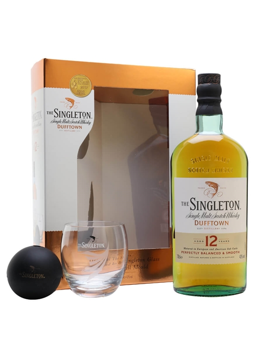 Singleton Of Dufftown 12 Year Old / 2 Glass Pack Speyside Whisky