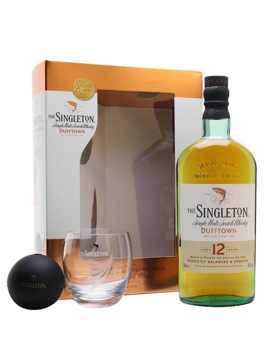 Singleton Of Dufftown 12 Year Old / 2 Glass Pack Speyside Whisky
