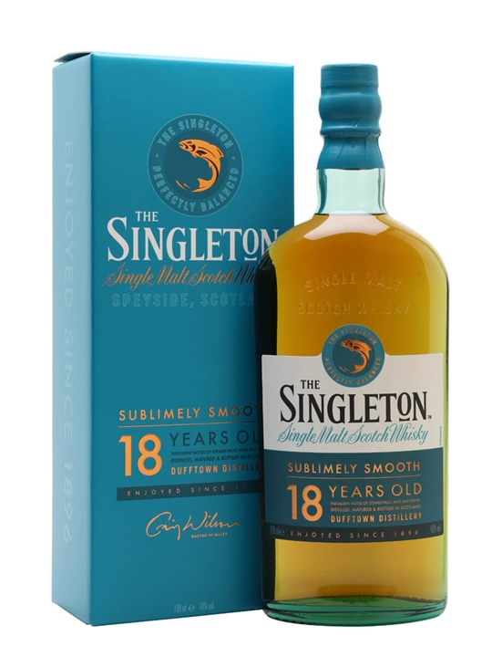 Singleton Of Dufftown 18 Year Old Speyside Single Malt Scotch Whisky