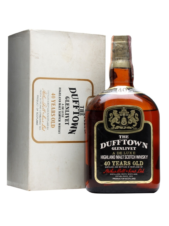 Dufftown Glenlivet 40 Year Old / De Luxe Speyside Whisky